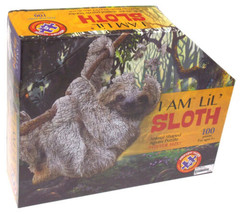 I Am Lil Sloth 100 Piece Jigsaw Puzzle Large 30x28 Animal Shaped Poster ... - $14.99