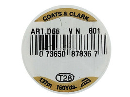 Coats & Clarks Glitz Metallic Foil Decorative Thread, Gold #801 image 2