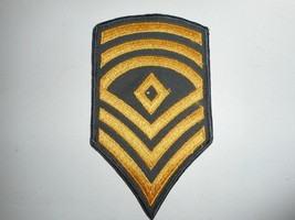 "Vintage Military Army 1st Sergeant Patch 3""x5.25"" - $9.99"