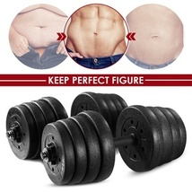Quality Adjustable Dumbell Weight Set - £113.71 GBP