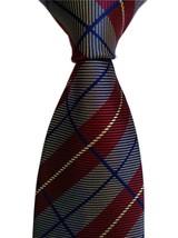 Men's Classic Floral Jacquard Woven Microfiber Formal Tie Party Necktie ( - $12.26