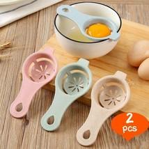 Hoomall® 2pcs/set Kitchen Material Plastic Steel Egg Yolk White Separato... - $3.22 CAD