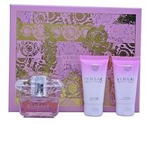 Women's Perfume Set Bright Crystal Versace (3 pcs) - $54.39