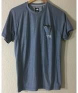 The North Face Men's Pocket FlashDry Crew-Neck Athletic Blue T-Shirt Sz S/P NWOT - $24.99