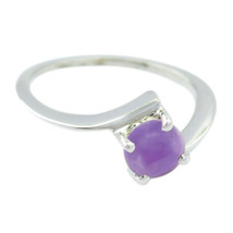 Amethyst rings - Solid Silver Ring - Purple Ring baby jewelry Gems rings... - $15.99