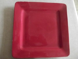 Home Tabasco Red dinner plate 2 available - $2.92