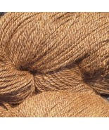 Med Fawn 100% Huacaya Alpaca 3 skeins ea 3 ply 4 ounce DK/Worsted/Sport ... - $50.00