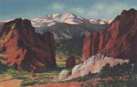 Pikes Peak Gateway of the Garden of the Gods Postcard B29 - $2.69