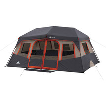 10 Person Instant Cabin Tent w/ 8 windows 2 Room & Hanging Gear Organizer - $215.00