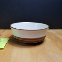 Denby Langley Potters Wheel Rust Red Fruit Desert Bowls 5 1/2 Inches Eng... - $19.79