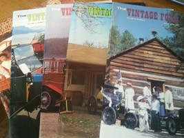 "Lot Of 5 The Vintage Ford Magazines 1992 Model ""T"" Club** - $22.59"