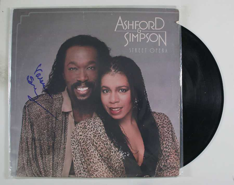 "Primary image for Valerie Simpson Signed Autographed ""Ashford & Simpson"" Record Album"