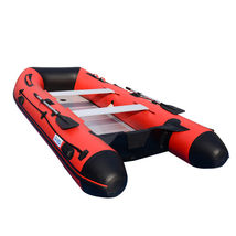BRIS 12ft Inflatable Boat Dinghy Raft Pontoon Rescue & Dive Raft Fishing Boa image 1