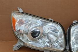 06-09 Toyota 4Runner Projector Headlight Head Light Lamps Set Pair L&R POLISHED image 4