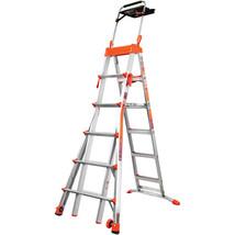 Step Ladder Portable Folding Multi-Position Adjustable 6'-10' Steps Dura... - $314.98