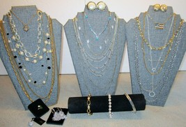 Vintage Signed Costume Jewelry Lot Trifari Monet Napier Sarah Coventry & More #3 - $75.00
