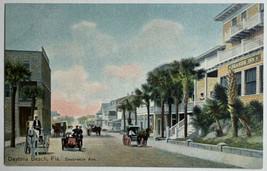 Old DB Postcard Seabreeze Ave Seaside Inn Carriages Daytona Beach, FL Un... - $19.55