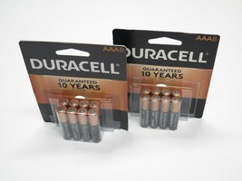 Duracell Aaa Battery 2 (Two) 8 Packs MN2400 1.5V Alkaline Mar 2028 Free Ship - $13.95