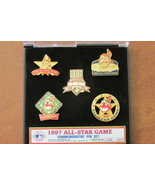Cleveland Indians 1997 All Star Game Commemorative Pin Set, Original Pac... - $21.99