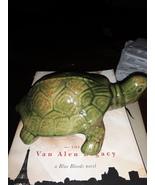 VTG Ceramic Green/Brown Turtle  - $58.00