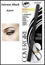 NEW Covergirl Intensify Me Lashblast Liquid Eyeliner   Intense Black #300 - $6.75