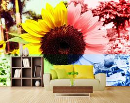 3D Bunte Sonnenblume 835 Fototapeten Wandbild Fototapete BildTapete Familie - $51.09+