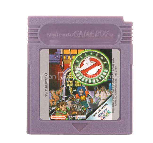 Primary image for Extreme Ghostbusters Nintendo Game Boy Color GBC Cartridge