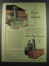 1957 Coventry Climax Fork Lift Trucks Ad - Full credit to this squeeze - $14.99