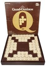 QUAD-OMINOS Domino Tile Board Game Pressman Makers Of Triominos Vintage 1978 - £17.81 GBP