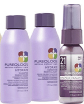 Pureology Hydrate Shampoo & Conditioner 1.7oz free Color Fanatic 1oz 3 PACK - $25.73