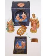 "1992 FONTANINI ITALY #71503 HOLY FAMILY HEIRLOOM NATIVITY 5"" COLLECTION ... - $46.27"