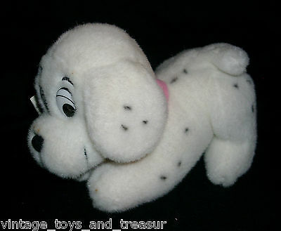 "7"" 101 DALMATIANS DISNEY STORE PENNY GIRL STUFFED ANIMAL PLUSH TOY PUP W/ TAG"