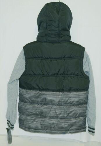Weatherproof OBZCE0P Boys Jacket Color Black Blue and Gray Size Medium
