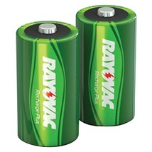 Rayovac Ready-to-use Rechargeable Nimh Batteries (c; 2 Pk; 3,000mah) RVC... - $20.02