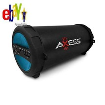 Axess Portable Thunder Sonic Bluetooth Cylinder Loud Speaker Builtin Fm ... - $52.99 CAD