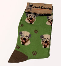 Wheaten Terrier Socks Unisex Dog Cotton/Poly One size fits most - $11.99