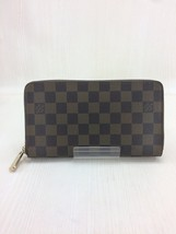 LOUIS VUITTON N60003 Zippy Organizer Damie Ebene Brown Used Very good Fr... - $416.77