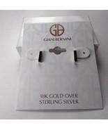 Giani Bernini 18K Gold over Sterling Silver Earrings - New - $34.65