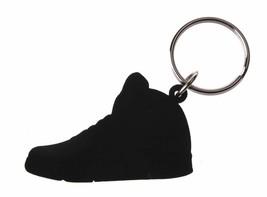 Good Wood NYC Laney 5 White Sneaker Keychain White V Shoe Key Ring Key Fob image 2