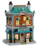 Lemax Village Collection 2017 A CUT ABOVE JEWELERS # 75236 Lighted Insid... - $57.94