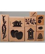 Stampin' Up! Definitely Decorative Branch Set of 9 Retired 1997 - $59.99