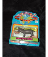 Vtg HIPPOPOTAMUS HIPPO Wildlife of the World Imperial Figure animal Toy ... - $3.00