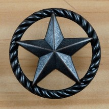 Set of 6 Star with Rope Drawer Pull, Oil Rubbed Bronze in Color, - $24.74