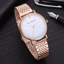Lvpai® Luxury Watch Rose Gold Classic Stainless Steel Dress Quartz Alloy image 2