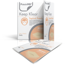 PatchMD Keep Klear - Topical Patch (30 Day Supply)-EXP 2022 - Reduce Blemishes - $13.51