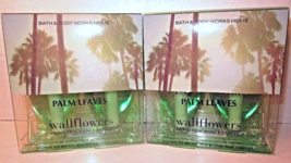 2 bx Bath & Body Works Wallflower Diffuser Refill Bulb  Palm Leaves - $39.99