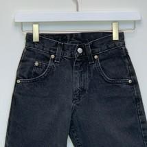 Wrangler Silver Edition Boys Slim Black Jeans Size 8 - $24.72