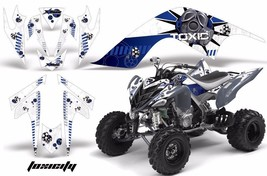 ATV Decal Graphic Kit Quad Sticker Wrap For Yamaha Raptor 700 2006-2012 TOX U W - $169.95