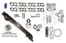Upgraded EGR Cooler Kit Engine Oil Cooler Diesel Turbo OHV Fits Ford 6.0... - $164.00