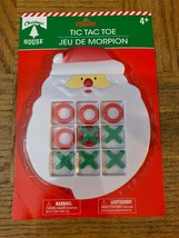 Tic-tac-toe Christmas Santa Winter Holiday Travel Game Kids - $8.70